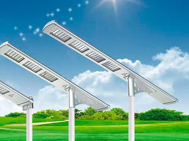 Farolas solares para jardín