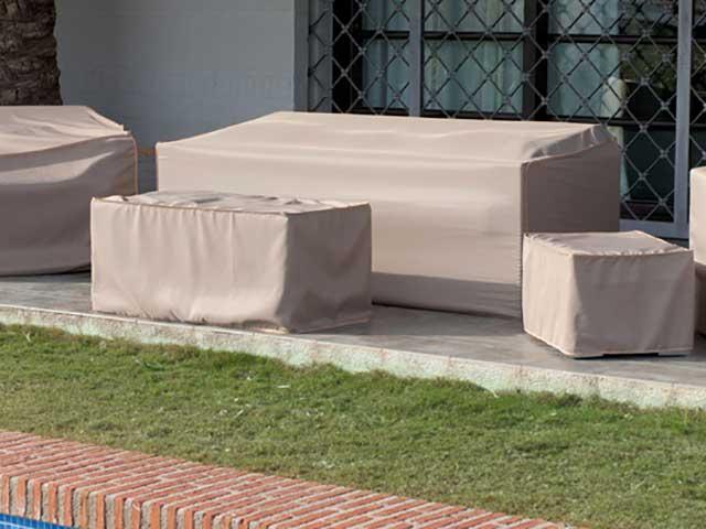 Fundas para muebles de jardín