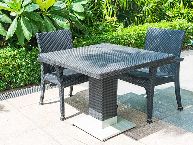 Mesa de exterior para jardín