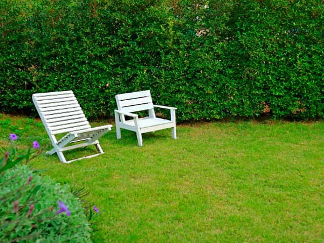 Silla de exterior para jardín