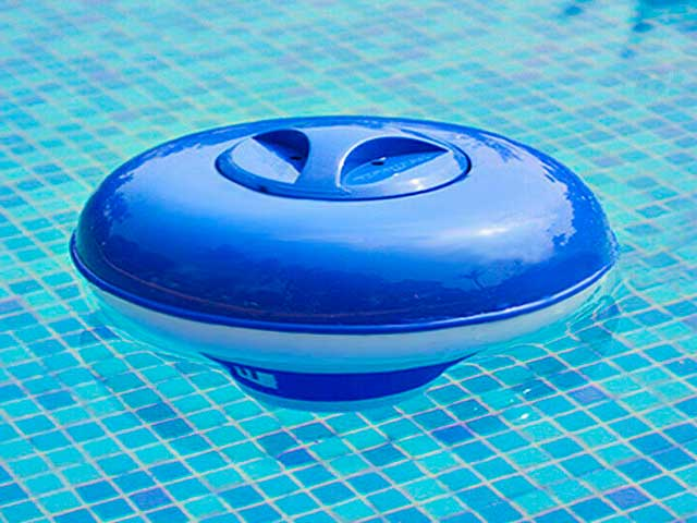 Dosificador de cloro para piscina